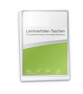 Laminierfolien A6 (111 x 154 mm), 2 x 125 mic, matt