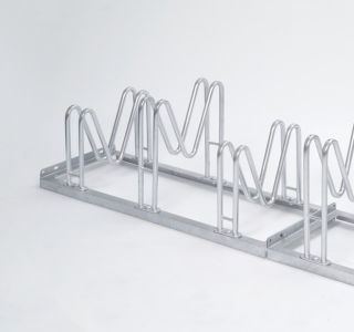 Multiparker 8054, Feuerverzinkter Stahl, 4 Einstellplätze