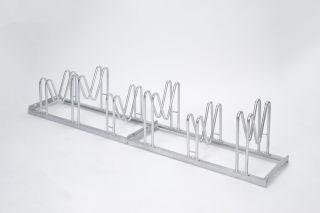 Multiparker 8056, Feuerverzinkter Stahl, 6 Einstellplätze