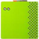Magnethaftende Kombitafel, grün, mit Bilderrahmen