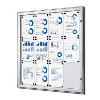 S - Schaukasten, für den Innen- und wettergeschützten Außenbereich, 12 x DIN A4