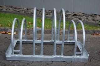 Bogenparker 5154, zweiseitige Radeinstellung, 4 Einstellplätze, feuerverzinkt