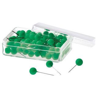Magnetoplan Pinnadeln, grün, 100er Pack