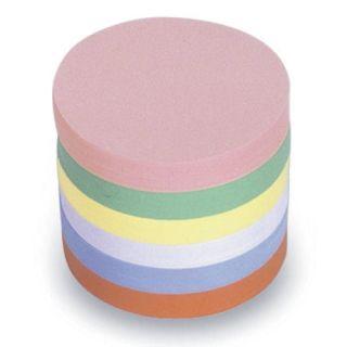 Magnetoplan Kommunikationskarten, Rund, Ø 100 mm, in 6 Farben sortiert, 500er Pack