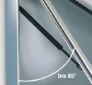 TOP-Schaukasten TN 15, 27 x DIN A4, Alu-silberfarbig, 120 mm Bautiefe