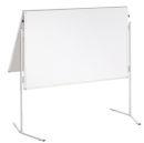 Moderationstafel ECO, klappbar, 120 x 150 cm, weiß/karton, weiß/karton