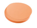 Franken Moderationskarte, Kreis klein, 95 mm, orange, 500...