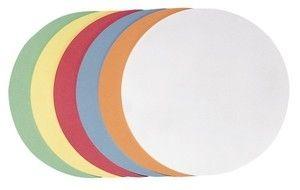 Franken selbstklebende Moderationskarte Kreis groß, 195 mm, sortiert, 300 Stück