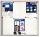 Schaukasten X-tra! Line für 6x A4, 73 x 68 x 3 cm, weiß, magnethaftend