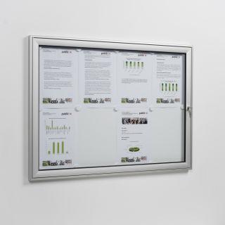 Softline Schaukasten FSK 16, für 16 x A4, für innen und außen, Hochformat