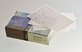 Laminierfolie, Key Card-Format (99 x 64 mm), 125 mic, 100 Stück