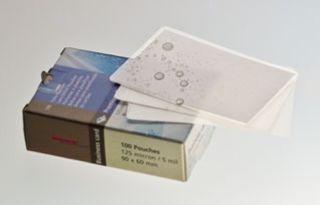Renz Laminierfolie, Badge-Format (99 x 67 mm), 125 mic, 100 Stück