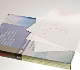Renz Laminierfolie, DIN A4 (303 x 216 mm), 80 mic, 100 Stück