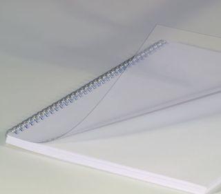 Deckblätter, DIN A4, transparent, 0,15 mm, VE mit 100 Stück