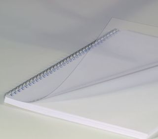 Deckblätter, DIN A5, transparent, 0,20 mm, VE mit 100 Stück