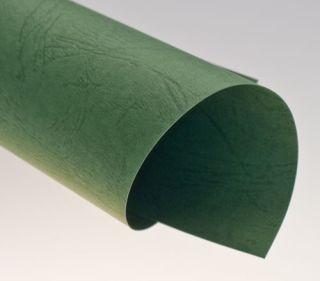 Rückwände, ledergenarbt grün, DIN A4, 250g/qm, VE mit 100 Stück
