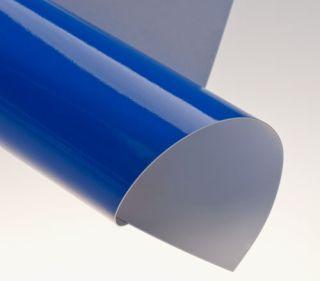 Rückwände, Chromo blau glänzend, DIN A4, 250g/qm, VE mit 100 Stück
