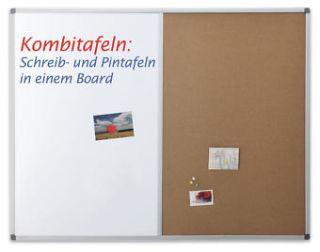 Magnetoplan Kombitafel, Typ SP, Größe 900 x 600 mm