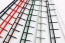 ACCO/GBC Bindesets (Bindestrips) für Surebind 1, 2 und 3. A4. Farbe rot, 100er Packung, Größe 1 Zoll, 25 mm