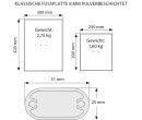 Infoboard Classic, DIN A3 Gehrung