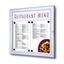 SCZ - Outdoor Menu Case 2 x A4 Speiseschaukasten...