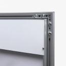 SCZ - Outdoor Menu Case 4 x A4, Speiseschaukasten, Hochformat