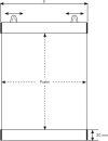 Klemmschiene Easy Fix, Länge: 841 mm