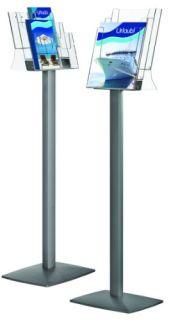 Prospektständer StreamLine, 6x DIN 1/3 A4, Hochformat