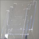 Prospektständer StreamLine, 3x DIN A4, Hochformat