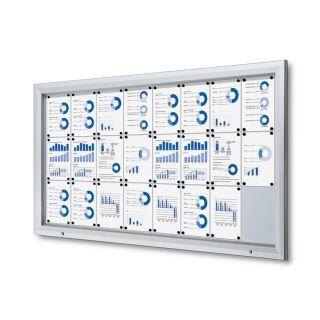 Schaukasten T - Premium 24 x A4, für den Außenbereich