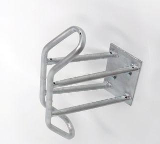 Fahrrad Wandparker 3445, Einstellwinkel 45° links/rechts , Feuerverzinkter Stahl