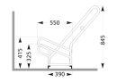 Fahrrad-Anlehnparker 2506, 6 Einstellplätze,...