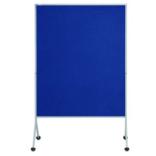 """Rocada Mobile Pinn- und Stellwand """"Mediator"""", blau, 120 x 150 cm"""