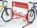 Werbe-Fahrradständer DW 3006, pulverbeschichtet nach...