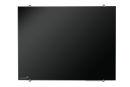 Glastafel, 90 x 120 cm, schwarz