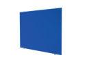 Glastafel, 90 x 120 cm, blau