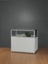 POV® Standvitrine 832 100-Tech, silber