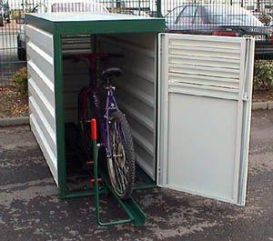 Fahrrad-Abstellbox Typ FAB Grundeinheit  L 2200 x T 1360 x H 840 in mm