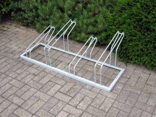 Fahrrad-Reihenparker TYP P 561/4R mit 4 Einstellplätze
