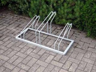 Fahrrad-Reihenparker TYP P 561/3R mit 3 Einstellplätze