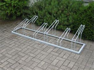 Fahrrad-Reihenparker TYP P 561/6R mit 6 Einstellplätze