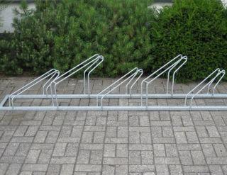 Fahrrad-Reihenparker  TYP P 561-S/L-5R mit 5 Einstellplätzen