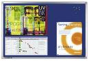 Legamaster PROFESSIONAL Pinboard, 60 x 90 cm, blaue...