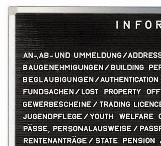 Legamaster PREMIUM Rillentafel, Hochformat 80 x 60 cm