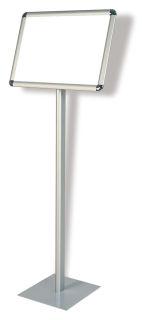 Franken Infodisplay für DIN A3, Querformat, auf Stativ 120cm