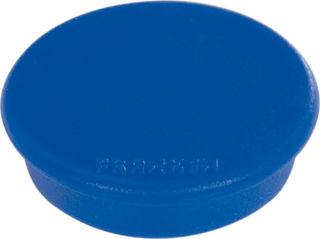 Franken Haftmagnete, Farbe blau, Durchmesser 24mm, 10er Pack