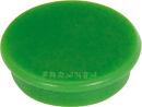Franken Haftmagnete, Farbe grün, Durchmesser 24mm,...