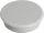Franken Haftmagnete, Farbe grau, Durchmesser 24mm, 10er Pack