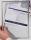 Franken Dokumentenhalter, für DIN A5, magnetisch, grauer Rand