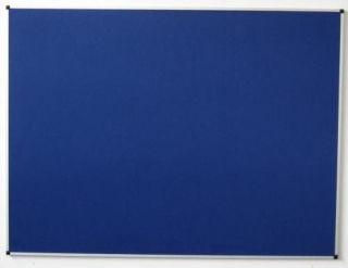 Pinn-Textiltafel, 120 x 150 cm, königsblau